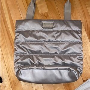 Grey Kate Spade Puff Purse